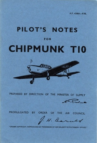 De Havilland Chipmunk T10  -Pilots Notes  by  Air Ministry