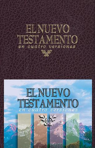 Nuevo Testamento En Cuatro Versiones   Tela Rojo, El Anonymous