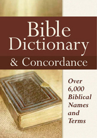 Bible Dictionary & Concordance  by  Castle Books