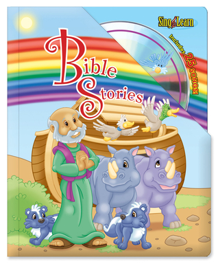 Bible Stories Sing and Learn Padded Board Book with audio CD (Sing & Learn Padded Board Books) Kim Mitzo Thompson
