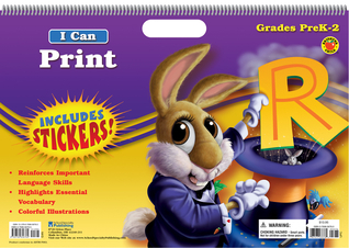 I Can Print Floor Tablet, Grades PK - 2  by  Brighter Child