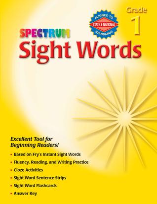 Sight Words, Grade 1 School Specialty Publishing