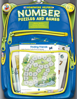 Number Puzzles and Games, Grades K - 1 Frank Schaffer Publications
