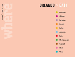 Where Orlando Eat!: Great Meals Wherever You Are  by  Where Magazine