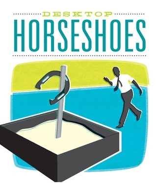 Desktop Horseshoes  by  Lindsay Rosoff