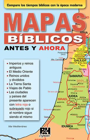 Mapas bíblicos antes y ahora  by  Holman Bible Publisher