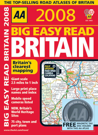 AA 2008 Big Easy Read Britain  by  A.A. Publishing