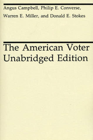 The American Voter  by  Angus Campbell