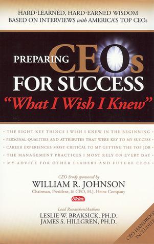 Preparing CEOs for Success Leslie W. Braksick