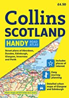 Handy Road Atlas Scotland: A5 Edition  by  Collins Publishers
