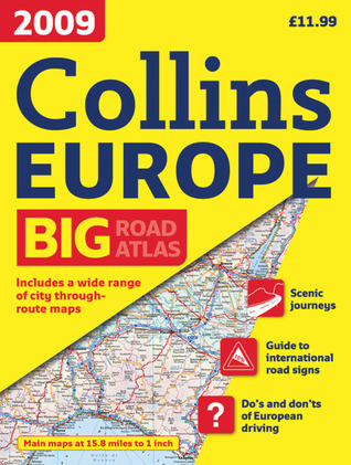 2009 Collins Road Atlas Europe: A3 Edition Collins Publishers