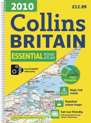 2010 Collins Essential Road Atlas Britain Collins Publishers