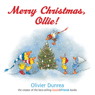 Merry Christmas, Ollie board book Olivier Dunrea