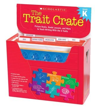 The Trait Crate®: Kindergarten: Picture Books, Model Lessons, and More to Teach Writing With the 6 Traits  by  Ruth Culham