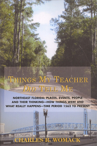 Things My Teacher Did Tell Me  by  Charles R. Womack