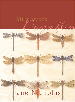 Stumpwork Dragonflies  by  Jane Nicholas