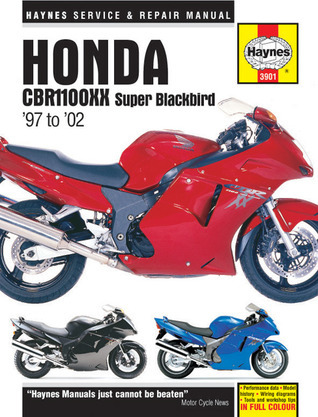 Honda CBR1100XX Super Blackbird 1997 to 2002 Matthew Coombs