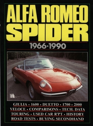 Alfa Romeo Spider 1966-90  by  R.M. Clarke