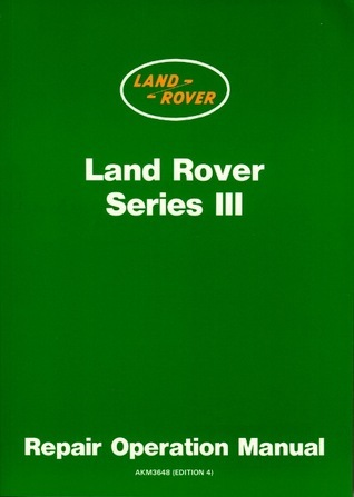 Land Rover Series 3 WSM Brooklands Books Ltd