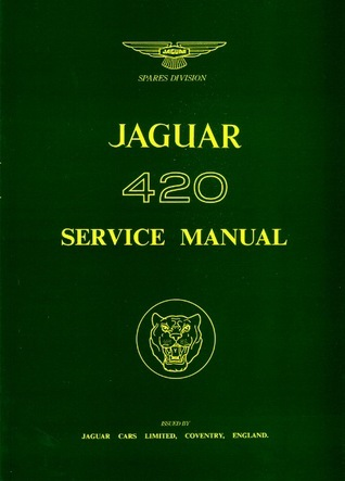 Jaguar 420 WSM  by  Brooklands Books Ltd