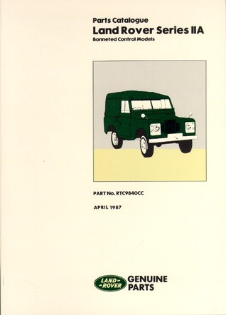 Land Rover Ser IIa Parts Catalog Brooklands Books Ltd