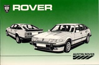 Rover Vanden Plas  by  Staff of Austin Rover