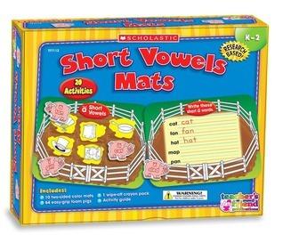 Short Vowels Mats Scholastic Inc.