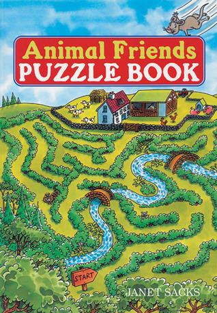 Animal Friends Puzzle Book Janet Sacks