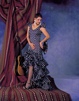 Flamenco Dress and Practice Skirt: 140  by  Bob Longe