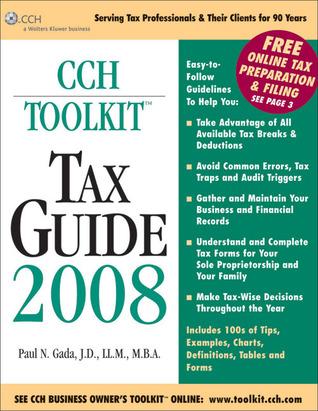 Toolkit Tax Guide 2008  by  Paul N. Gada