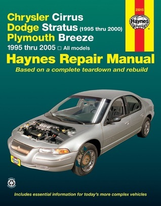 Chrysler Cirrus, Dodge Stratus (1995 thru 2000), Plymouth Breeze 1995 thru 2005: All models  by  Ken Freund