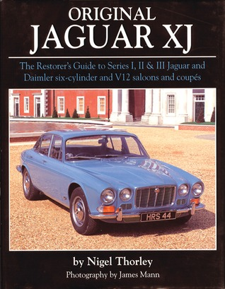 Original Jaguar XJ  by  Nigel Thorley