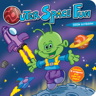 Little Scribbles: Outer Space Fun  by  Emma Less