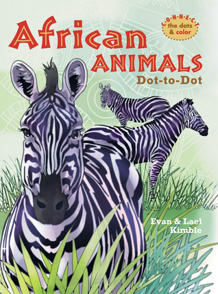 African Animals Dot-to-Dot Evan Kimble