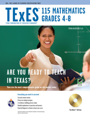 TExES 115 Mathematics 4-8 w/CD-ROM  by  Trena Wilkerson