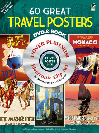 60 Great Travel Posters Platinum DVD and Book Carol Grafton