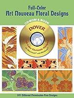 Full Color Art Nouveau Floral Design Collection E.A. Seguy