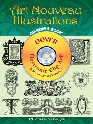 Art Nouveau Illustrations CD-ROM and Book Edmund V. Gillon Jr.