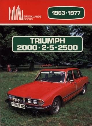Triumph 2000/2.5/2500 1963-77  by  R.M. Clarke