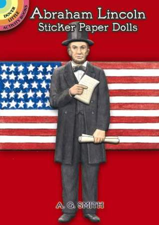Abraham Lincoln Sticker Paper Doll A.G. Smith