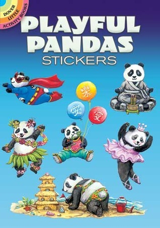 STICKERS:   Playful Pandas Stickers  by  NOT A BOOK