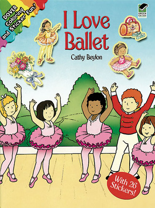 Coloring Book:   I Love Ballet NOT A BOOK
