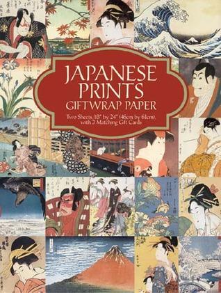 Japanese Prints Giftwrap Paper  by  Carol Belanger Grafton