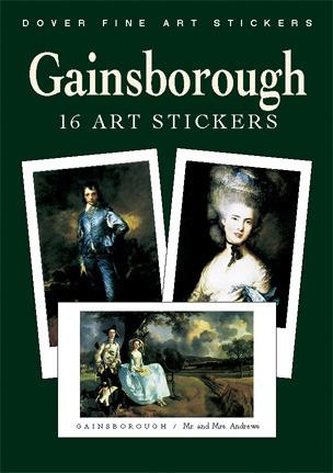 Gainsborough: 16 Art Stickers  by  Thomas Gainsborough