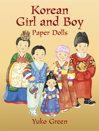 Korean Girl and Boy Paper Dolls  by  Yuko Green