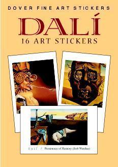Dali: 16 Art Stickers  by  Salvador Dalí