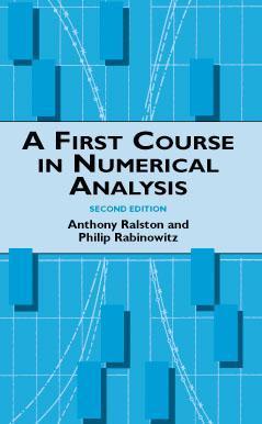 Algorithms Anthony Ralston