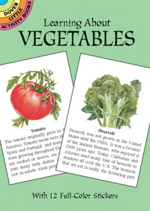 Learning About Vegetables Dot Barlowe