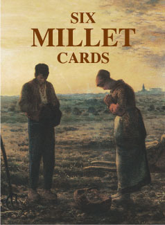Six Millet Cards  by  Jean-Francois Millet