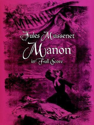 Manon in Full Score  by  Jules Massenet